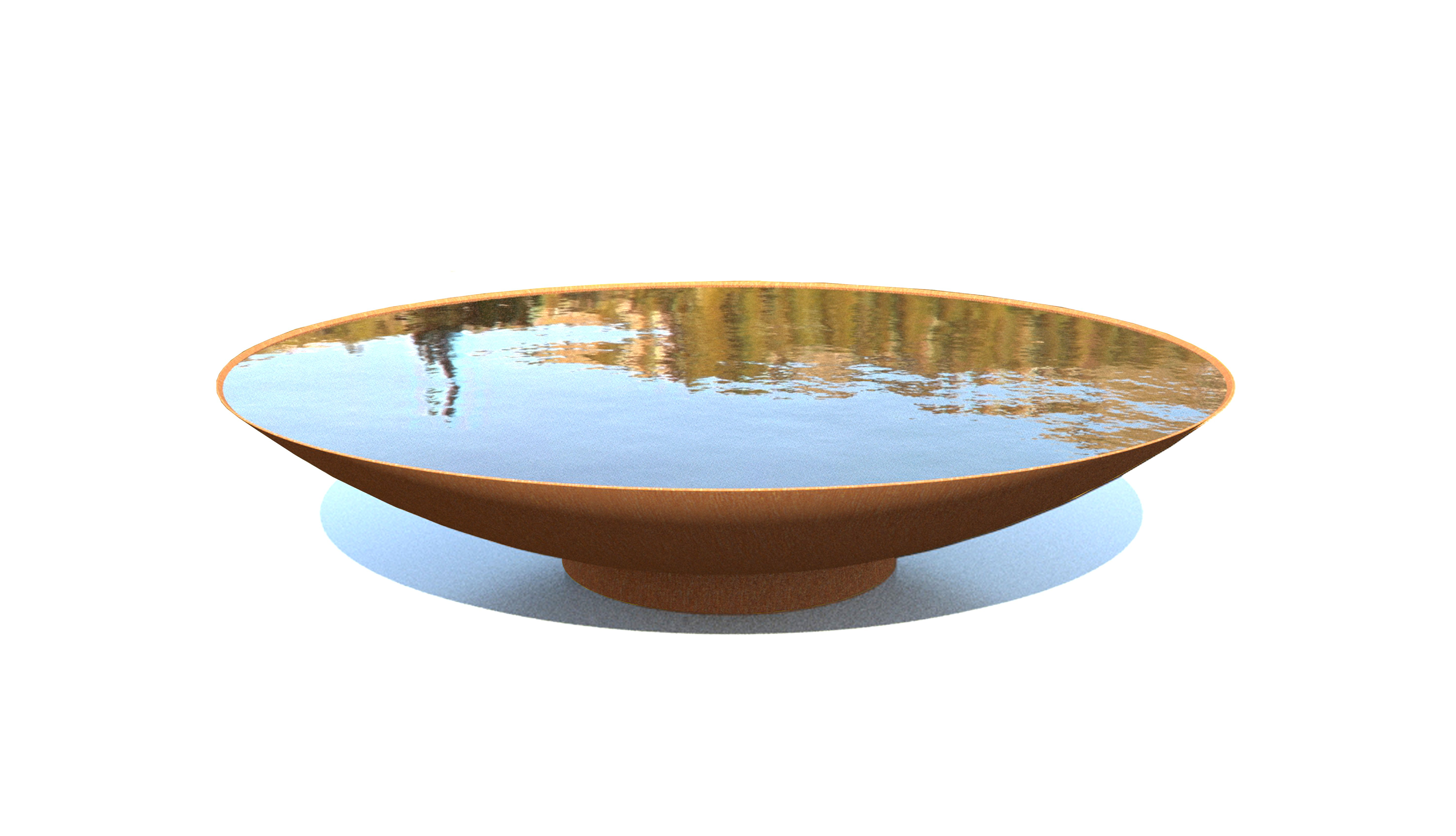 waterelement waterbowl cortensteel